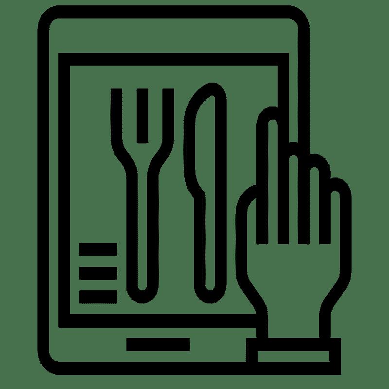 online menü promosyon